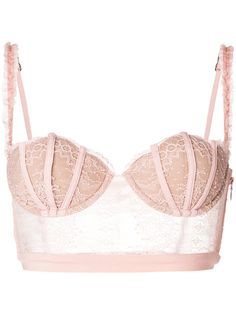 La Perla long-line lace shell bra