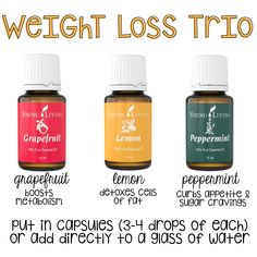Weight Loss Trio #weightlosslog