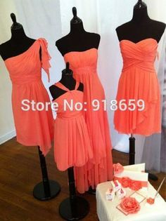 Find More Bridesmaid Dresses Information about robe demoiselle d'honneur 2015 New Style coral Short Chiffon Bridesmaid Dresses ,High Quality bridesmaid dresses from china,China bridesmaid dresses red and white Suppliers, Cheap bridesmaid dress evening dress from Rosemary Bridal Dress on Aliexpress.com