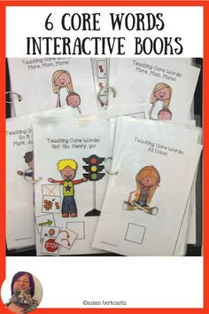 Have fun with your aac users with some interactive books for non contextual practice of beginning core words. Speech Language Therapy, Speech And Language, Speech Therapy, Communication Development, Language Development, Resource Room Teacher, Interactive Books, Self Contained Classroom, Teaching Special Education