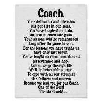 Thank You Letter to Coach . 25 Thank You Letter to Coach . 11 Sample Coach Thank You Letters Football Coach Quotes, Softball Coach Gifts, Cheer Coach Gifts, Hockey Coach, Cheerleading Gifts, Cheer Gifts, Basketball Gifts, Team Gifts, Sports Gifts