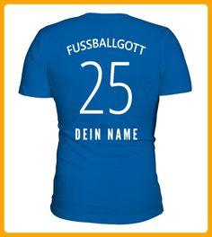 FUSSBALLGOTT NUMMER 25 - Foto shirts (*Partner-Link)
