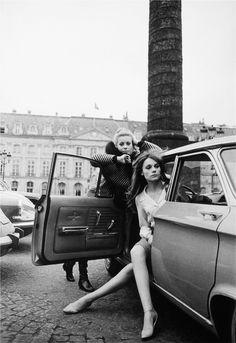 Las hermanas Deneuve, antes de que un accidente de automóvil redujera el conjunto a una Catherine.