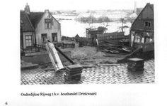 Onderdijkse Rijweg Zwijndrecht (jaartal: 1950 tot 1960) - Foto's SERC