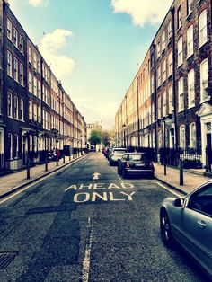 Farringdon, London,--this is the street I will be living on in September! #goingvogue #fashionweek