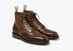 Grenson & Foot The Coacher Release a Second Collection · Selectism