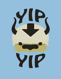 Appa: Yip Yip by Nicwise from RedBubble
