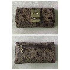 Guess wallet Guess wallet, has been used but looks brand new. No stains or tears.                                                                                                                                                                                                                             Fast shipper  Accept reasonable offers  I do bundle discounts too                                 No trades Guess Bags Wallets