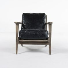 KAREN LOUNGE CHAIR RIALTO EBONY