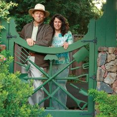 Tour the California garden of Sabrina and Freeland Tanner, whose attention to detail takes gardening to another level.