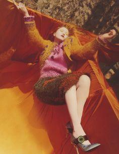 Publication: Vogue UK August 2017 Model: Devon Aoki Photographer: Harley Weir Fashion Editor: Francesca Burns Hair: Holli Smith Make Up: Thomas de Kluyver PART II Fashion Editor, Editorial Fashion, Fashion News, High Fashion, Fashion Stylist, Best Cardigans, Cardigans For Women, Vogue Uk, Editorial Photography