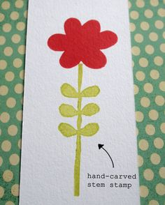 cute ideas for stamps from erasers
