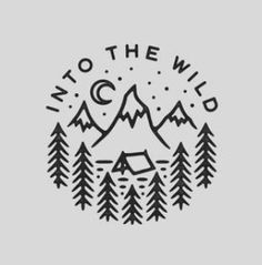 Into the wild stamp doodle drawings, doodle art, cute drawings, cool easy drawings Doodle Drawings, Easy Drawings, Doodle Art, Art Design, Logo Design, Typography Design, Lettering, Art Du Croquis, Ideias Diy
