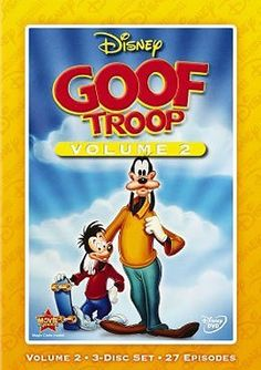 Disney's Goof Troop: Volume 2, 3-disc Set, 27 Episodes, Disney Exclusive Walt Disney Studios Home Entertainment http://www.amazon.com/dp/B00COT74RW/ref=cm_sw_r_pi_dp_B-9uvb1MDE4T6