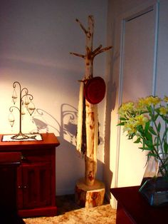 rustic coat and hat stand: the perfect rustic furniture accessory for your home or cabin