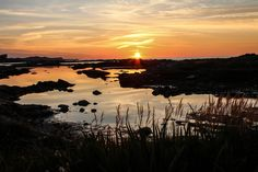 Sunset on Fogo Island, Canada.