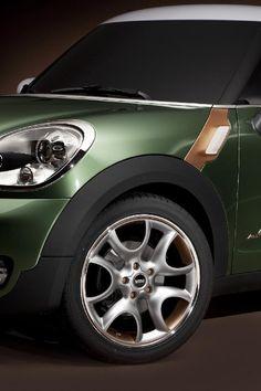 ♂ Green car MINI Paceman Concept #ecogentleman #automotive #transportation #wheels