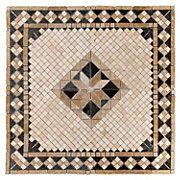 Aruba Travertine Medallion
