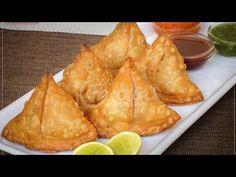 السمبوسة الهندية على أصولها 😍 باللحم المفروم والبطاطس طريقة العجينة والتشكيل😍potatoes samosa recipe - YouTube