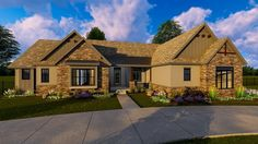 3 Bed Craftsman Ranch House Plan - 62646DJ | Architectural Designs - House Plans
