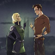 Lana and Theron