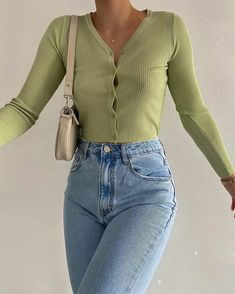 2020 trend Fashion Inspiration And Trend Outfits For Casual Look Indie Outfits, Cute Casual Outfits, Retro Outfits, Vintage Outfits, Dress Casual, Simple Outfits, Women's Casual, 80s Fashion, Look Fashion