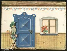 TODORECORTABLES SUEÑOS DE PAPEL: CASAS DE RECORTABLES Dollhouse Miniature Tutorials, Miniature Dollhouse Furniture, Dollhouse Miniatures, Paper Doll House, Paper Houses, Paper Dolls, Paper Bag Crafts, Cardboard Crafts, Origami