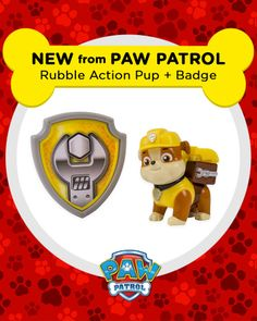 Rubble on the double! PAW Patrol toys are coming soon!