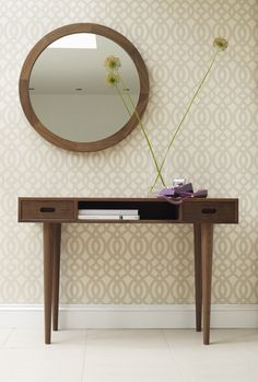 Heal's | Heal's Holborn Console Table Walnut 2 Drawers - Console Tables - Occasional Tables - Furniture
