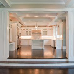 1000 images about step down to family room on pinterest for Great room addition off kitchen