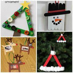 Christmas Popsicle Stick Crafts for Kids - Kids Art & Craft