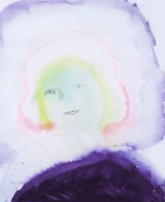 Ikuisuus (Eternity), 2016, watercolor, www.millahannula.com