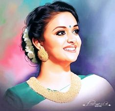 Tamil Actress, Bollywood Actress, Anushka Latest Photos, Indian Natural Beauty, Best Jeans For Women, Portrait Background, Cartoon Painting, Cute Girl Poses, Indian Art Paintings