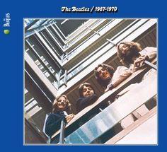 """THE BEATLES THE BEATLES 1967~1970 lo tengo lo tengooo yupiiiiiii :) Esta foto hace alusion al album please please me, iba a ser usada en el album """"get back"""" con el motivo de volver a sus raices,pero tras ser abandonado ese proyecto y grabar abbey road posteriormente se convirtio en let it be y esta foto paso a un disco recopilatorio."""