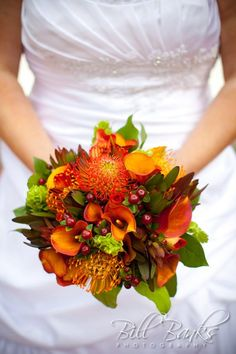 Fall wedding bouquet - this is actually mine!