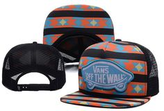 9ccd08a8bf7f2 Hot Vans Mesh Snapback cap Summer Breathable unisex hiphop street hats   6 pc