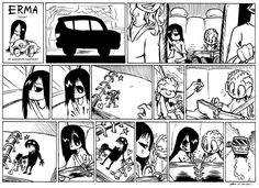Explore the Erma Comic collection - the favourite images chosen by Oswald-Lara on DeviantArt. Cute Comics, Funny Comics, Erma Comic, Short Comics, Dark Comics, Comics Story, Manga, Anime Comics, Webtoon