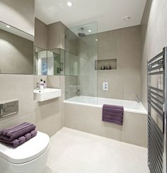 stunning home interiors | Bathroom : Another Stunning Show Home ... - small family bathroom ideas