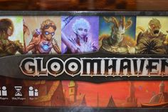 Has the search for a true Cooperative Campaign RPG game come to an end? Gloomhaven is Isaac Childres' attempt to take the rare and very heavy crown. Review Board, Tabletop Games, Card Games, Campaign, Crown, Search, Cards, Rpg, Board Games
