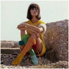 Salvatore Ferragamo boots and Micia mini-dress, 1965 Photographed by Joseph Leombruno and Jack Bodi, Model: Alberta Tiburzi