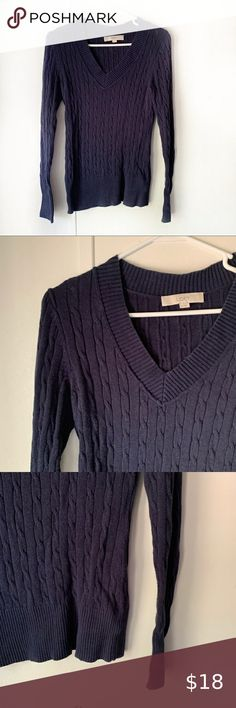 Ann Taylor LOFT Speckled Hi-Lo Sweater Pullover Size Large NWT Sterling Heather