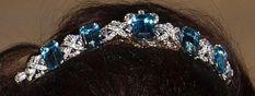 Art Deco Aquamarine Tiara, Luxembourg Royal Family
