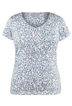 Avenue Plus Size Leopard Print Burnout Tee $19.99
