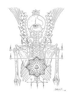 Tattoo Sketches, Drawing Sketches, Drawings, Tibet Art, Paradise Tattoo, Oriental Tattoo, Buddhist Art, Tantra, Design Show