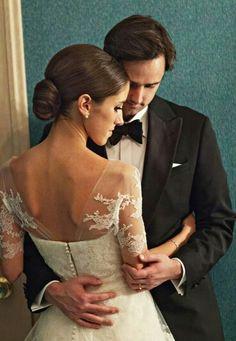 Classic evening wedding style