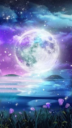 Images By Brittany Hummel On Moon Wallpaper | Moon Art, Anime