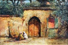 Outside the Gate peinture d Algérie enregistré par adel Hafsi