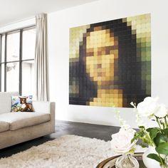 Mona Lisa, Venus and Frida Interior Wood Shutters, Interior Plants, Mona Lisa, Design Shop, Design3000, Dream Wall, Design System, Wall Decor, Wall Art