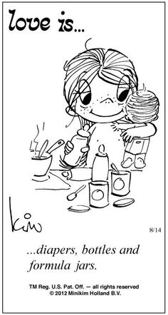 Love Is Cartoons by Kim | Love Is ... Comic Strip by Kim Casali (August 14, 2012)