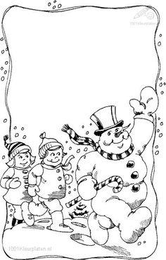 Blank Snowman Card For Merry Christmas Coloring Pages - Christmas Coloring Pages : KidsDrawing – Free Coloring Pages Online Merry Christmas Coloring Pages, Snowman Coloring Pages, Cool Coloring Pages, Coloring Books, Coloring Sheets, Christmas Card Template, Printable Christmas Cards, Christmas Frames, Christmas Colors